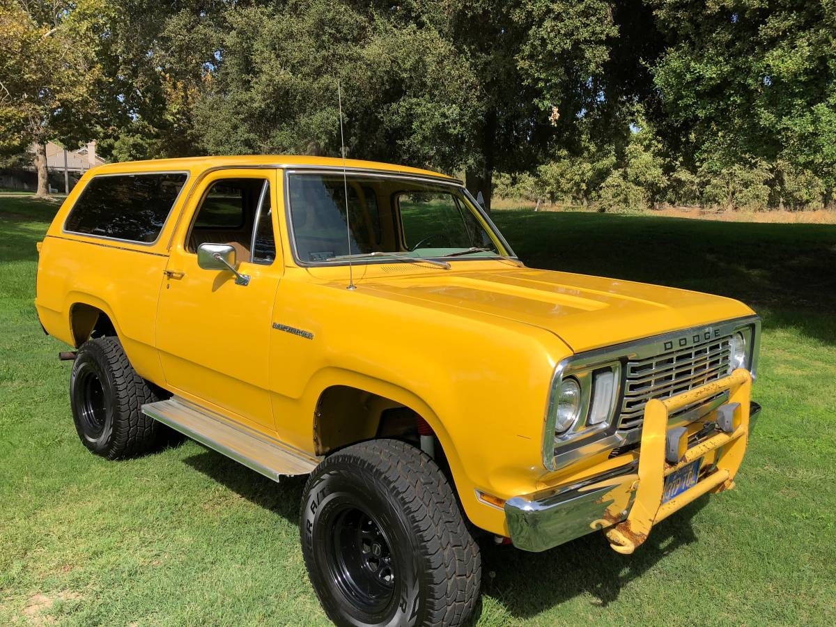 1977 Dodge Ramcharger 4 inch Lift Kit For Sale in Visalia, CA