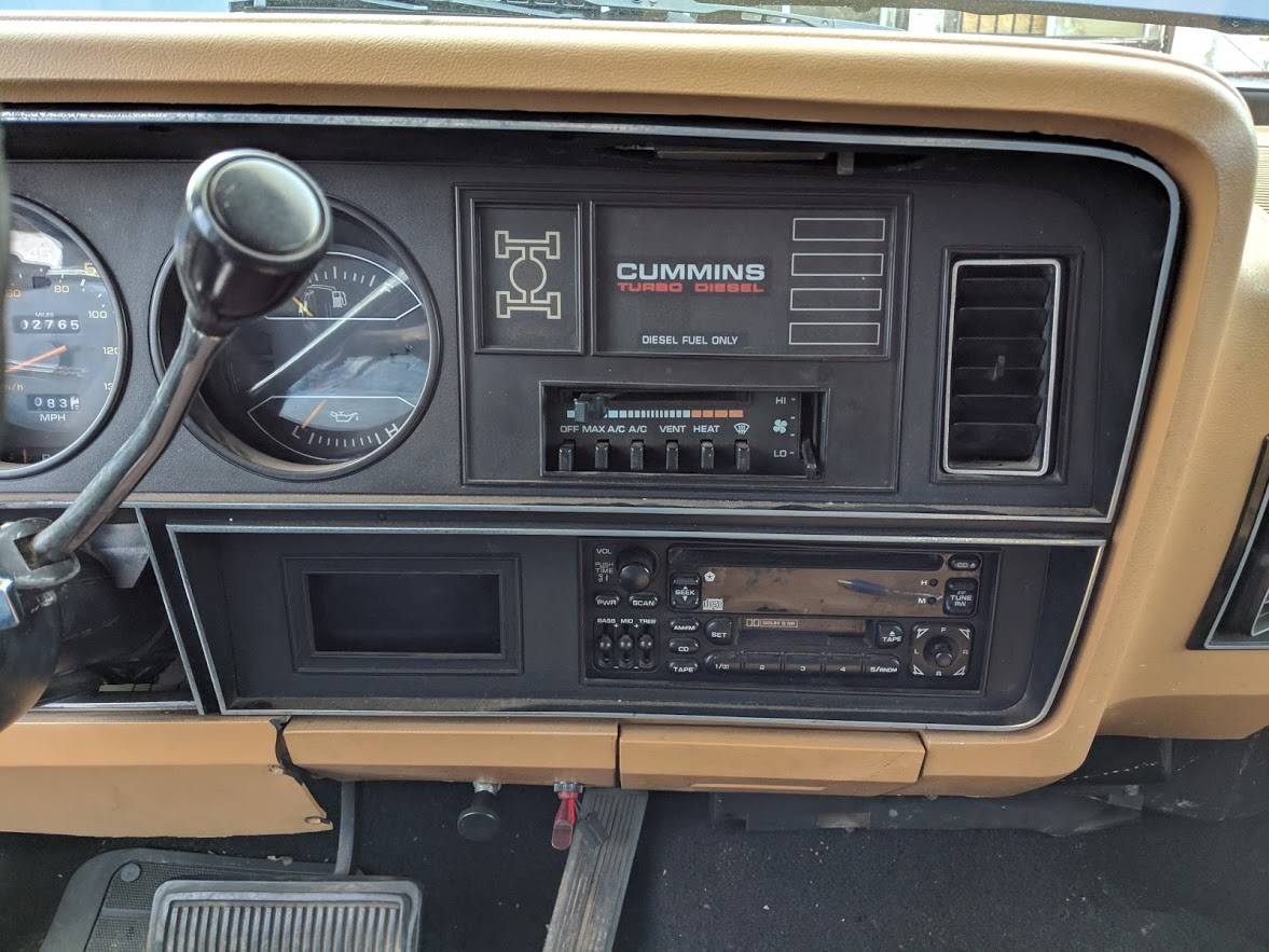 1985 Dodge Ramcharger 4x4 Cummins Turbodiesel For Sale in Stead, NV