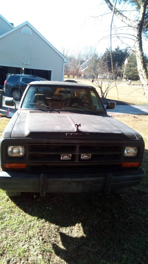 1989 dodge ramcharger 5 2l v 8 for sale in oxford pa - Craigslist central michigan farm and garden ...