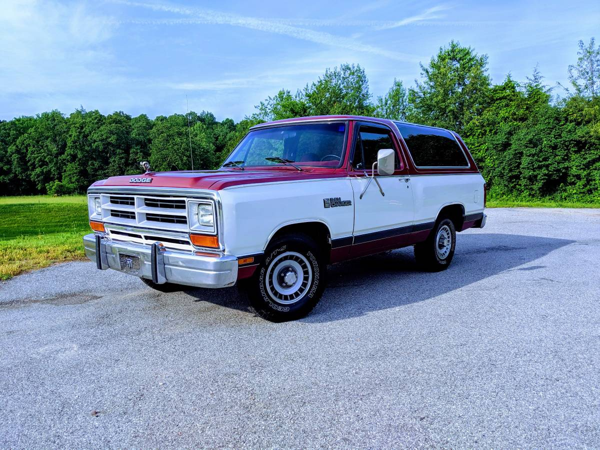 1987 Dodge Ramcharger Red RWD For Sale in Fayetteville, AR
