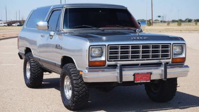 Superb 1985 Dodge Ramcharger Full Resto 5 9L 360 4Spd For Sale In Caraccident5 Cool Chair Designs And Ideas Caraccident5Info