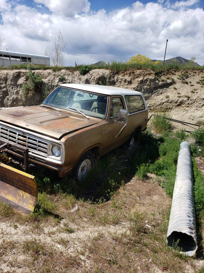 1975 Dodge Ramcharger 318 Automatic For Sale in Castle ...