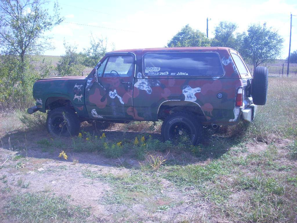 1978 Dodge Ramcharger 4x4 360 Automatic For Sale in ...