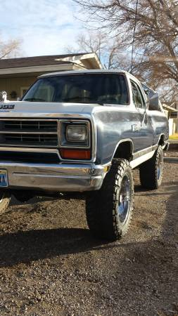 1987 Dodge Ramcharger For Sale in Fallon NV