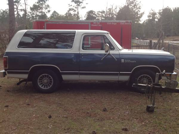 1987 Dodge Ramcharger 2WD For Sale in Tallahassee FL