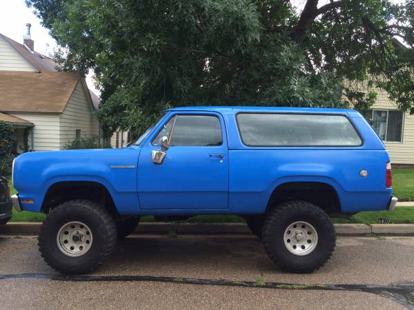 1978 4WD Dodge Ramcharger For Sale in Lafayette CO