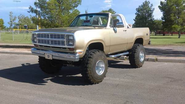 Craigslist Missoula Mt >> 1979 Dodge Ramcharger 318 V8 Auto For Sale in Tucson, AZ