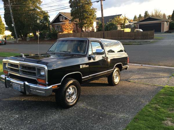 1991 Dodge Ramcharger For Sale in Effingham, Illinois - $800