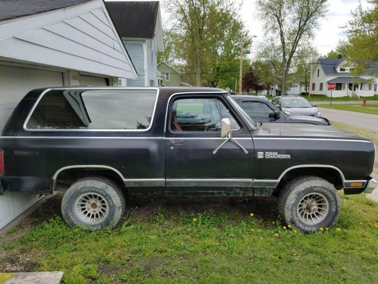 1984 Dodge Ramcharger SUV Prospector For Sale in Nashville ...