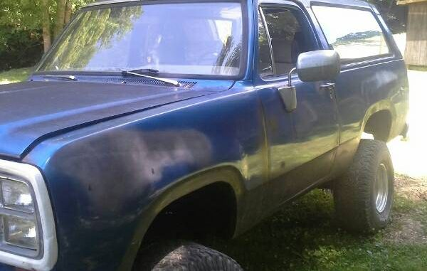 1979 Dodge Ramcharger V8 Automatic For Sale in Lincoln ...