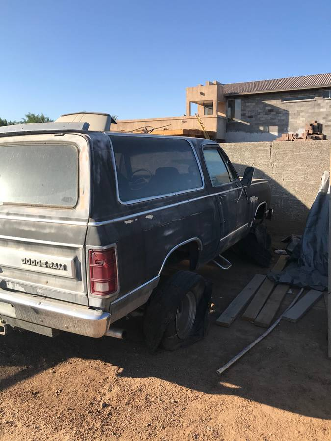 1985 Dodge Ramcharger V8 Auto For Sale in Glendale, AZ